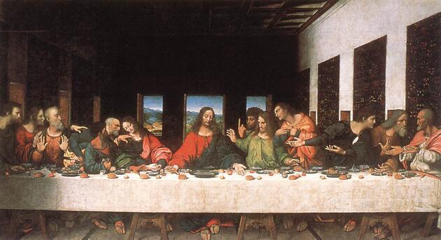 Son Akşam Yemeği – Leonardo Da Vinci