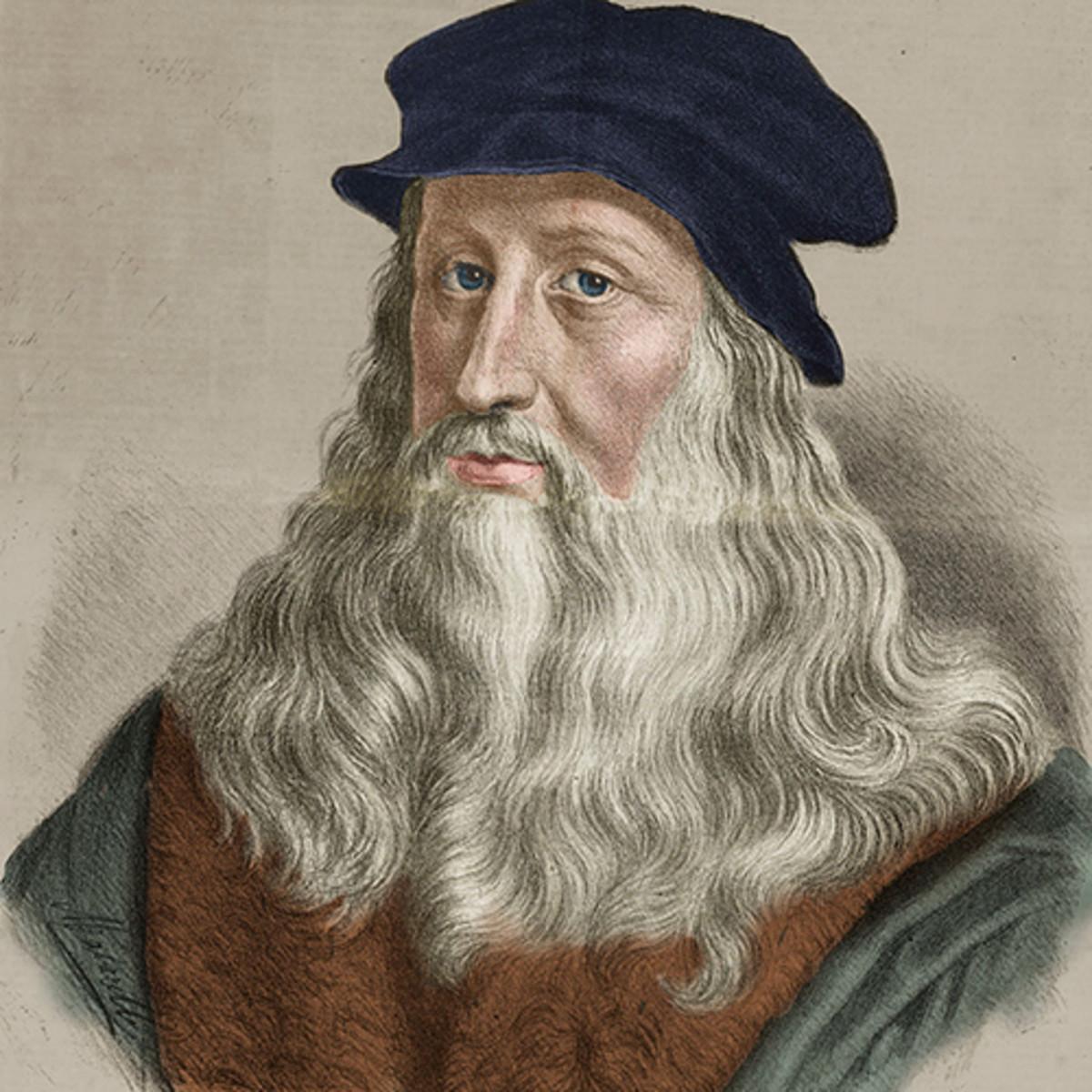 Leonardo da Vinci, Hayatı ve Eserleri !